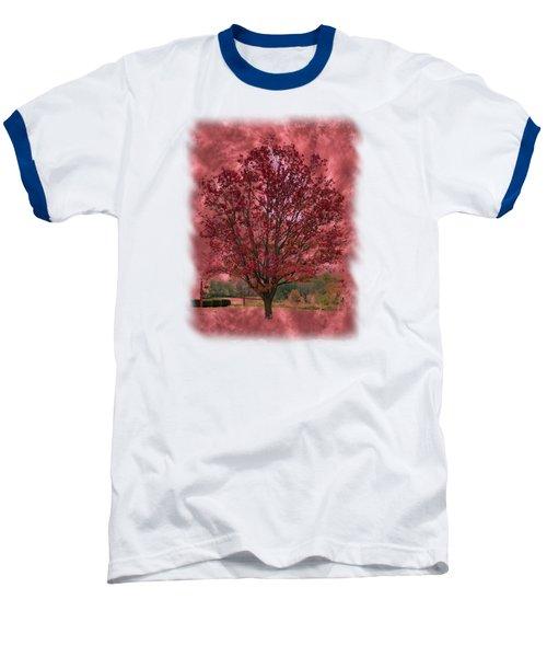 Seeing Red 2 Baseball T-Shirt by John M Bailey