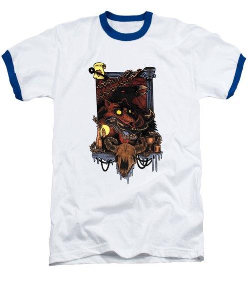 Shmignola Baseball T-Shirt by Vicki Von Doom