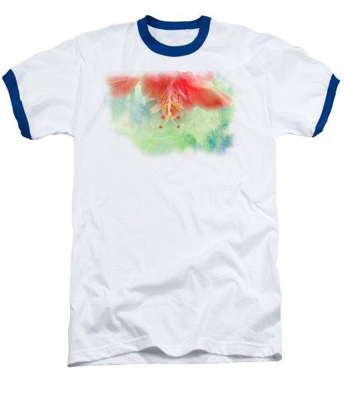 Softly Colored 1 Baseball T-Shirt by Judy Hall-Folde