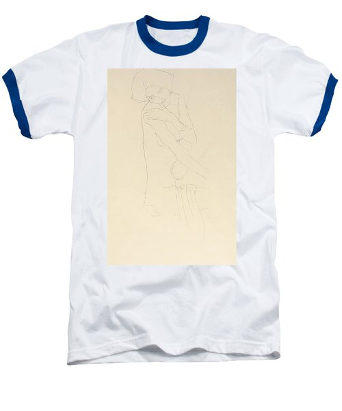 Study For Adele Bloch Bauer II Baseball T-Shirt by Gustav Klimt