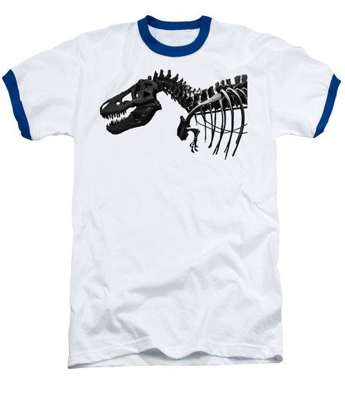 T-rex Baseball T-Shirt by Martin Newman