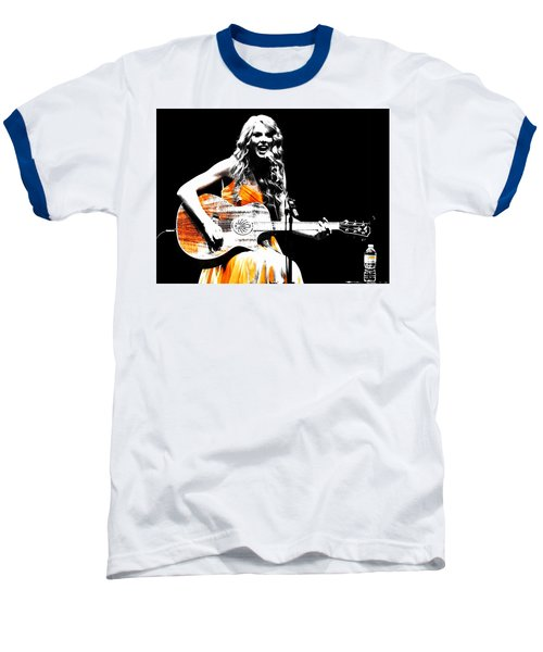 Taylor Swift 9s Baseball T-Shirt by Brian Reaves