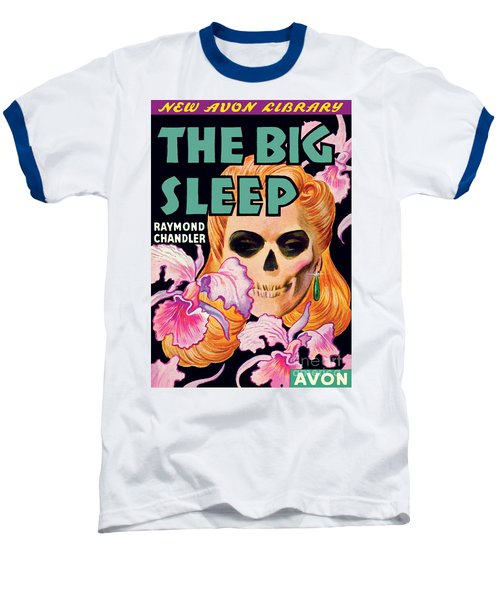 Baseball T-Shirt featuring the painting The Big Sleep by Paul Stahr