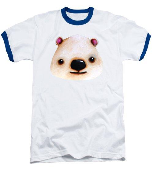 The Polar Bear Baseball T-Shirt by Lucia Stewart