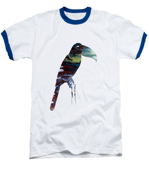 Toucan Baseball T-Shirt by Mordax Furittus
