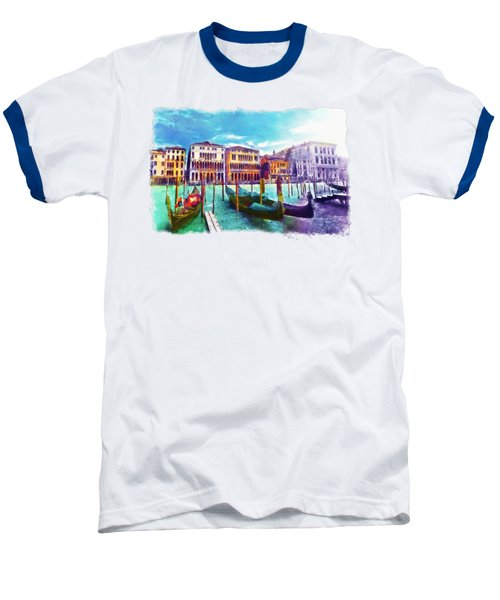 Venice Baseball T-Shirt by Marian Voicu