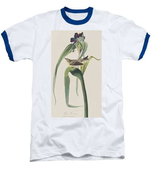 Vigor's Warbler Baseball T-Shirt by John James Audubon