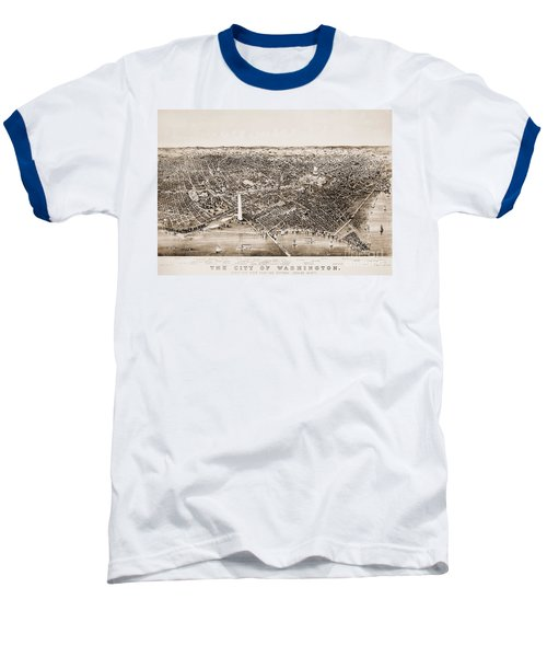 Washington D.c., 1892 Baseball T-Shirt by Granger