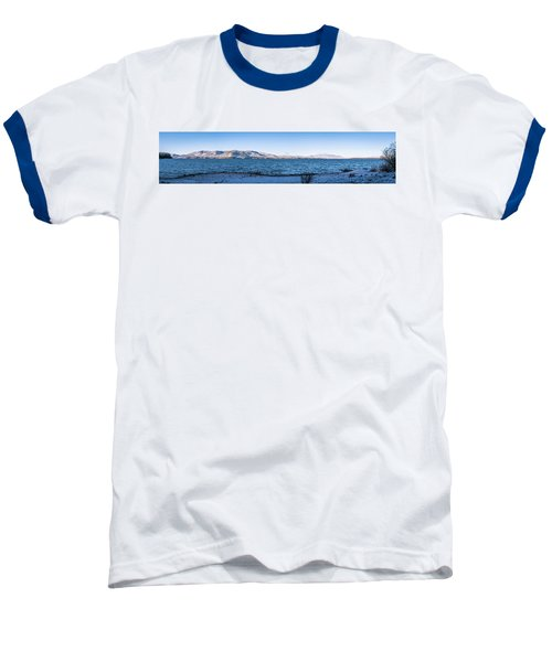 Baseball T-Shirt featuring the photograph West Almanor Blue by Jan Davies