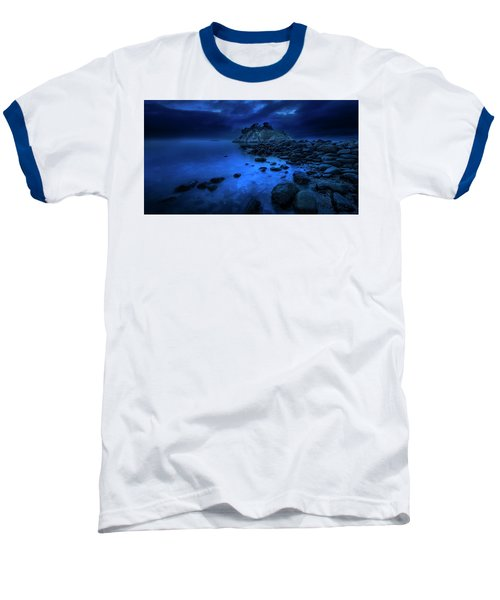 Baseball T-Shirt featuring the photograph Whytecliff Dusk by John Poon