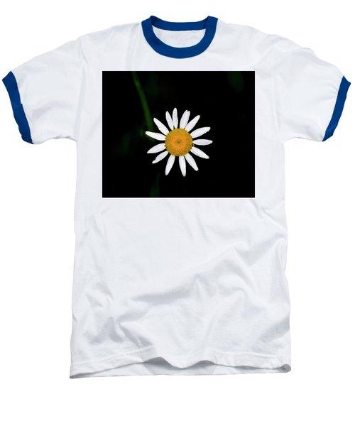 Baseball T-Shirt featuring the digital art Wild Daisy by Chris Flees