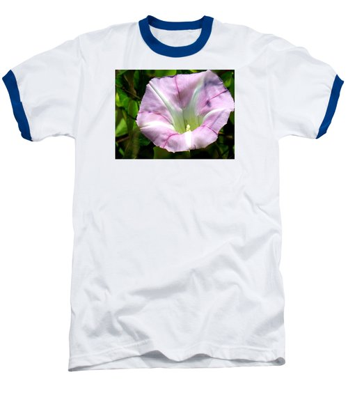 Baseball T-Shirt featuring the photograph Wild Morning Glory by Eric Switzer