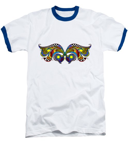 Chrysalis Baseball T-Shirt by Dar Freeland