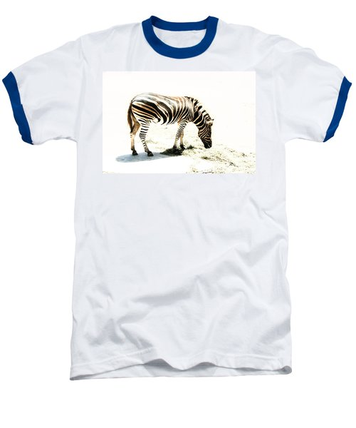 Baseball T-Shirt featuring the photograph Zebra Stripes by Stephen Mitchell