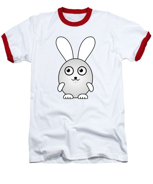 Bunny - Animals - Art For Kids Baseball T-Shirt by Anastasiya Malakhova