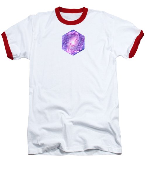 Cosmic Vacuum Cleaner Spiral Galaxy M83 Baseball T-Shirt by Philipp Rietz