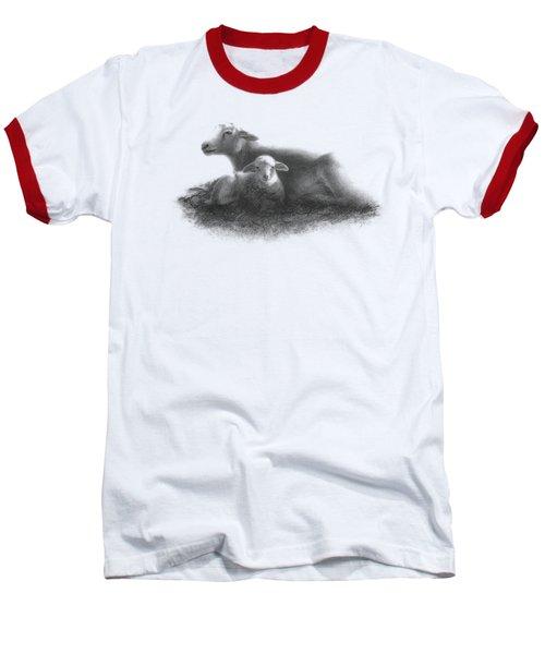 Harmony Baseball T-Shirt by Elisa Sbingu
