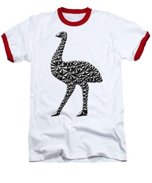 Metallic Emu Baseball T-Shirt by Chris Butler