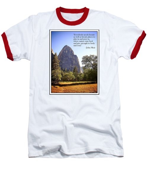 Baseball T-Shirt featuring the photograph Natures Cathedral by Glenn McCarthy Art and Photography