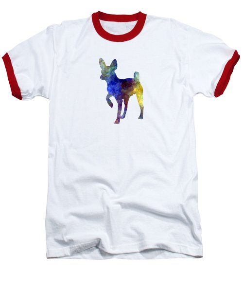 Russian Toy 01 In Watercolor Baseball T-Shirt by Pablo Romero