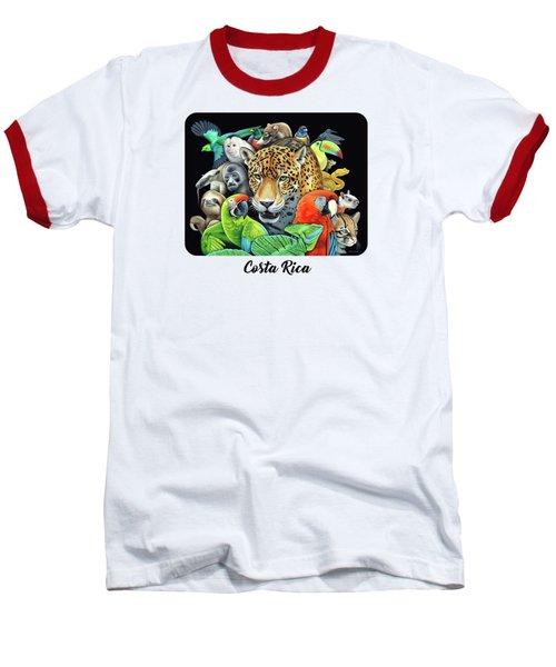 The Circle Of Life Baseball T-Shirt by Nathan Miller