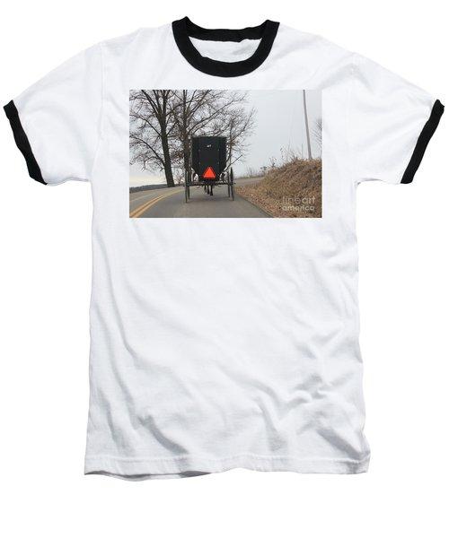 A Slow Go Baseball T-Shirt