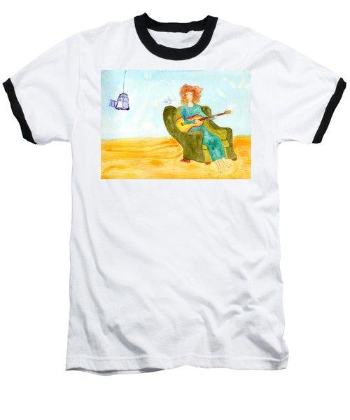 Bird Song Baseball T-Shirt