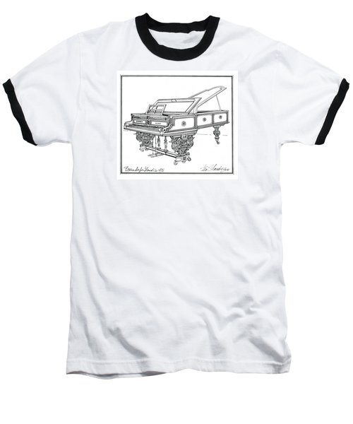 Bosendorfer Centennial Grand Piano Baseball T-Shirt