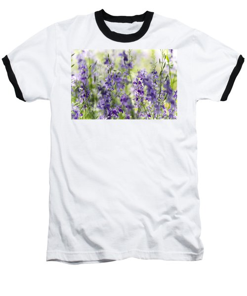 Fields Of Lavender  Baseball T-Shirt by Saija  Lehtonen