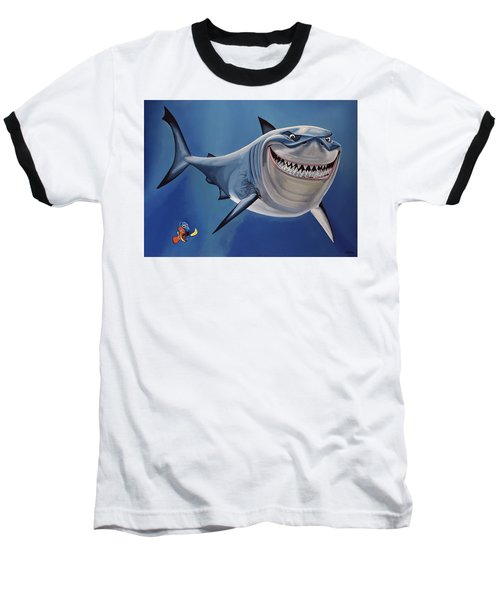 Finding Nemo Painting Baseball T-Shirt