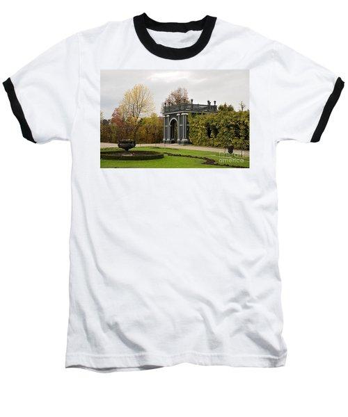 Baseball T-Shirt featuring the photograph  Garden Gate Schonbrunn Palace Vienna Austria by Imran Ahmed
