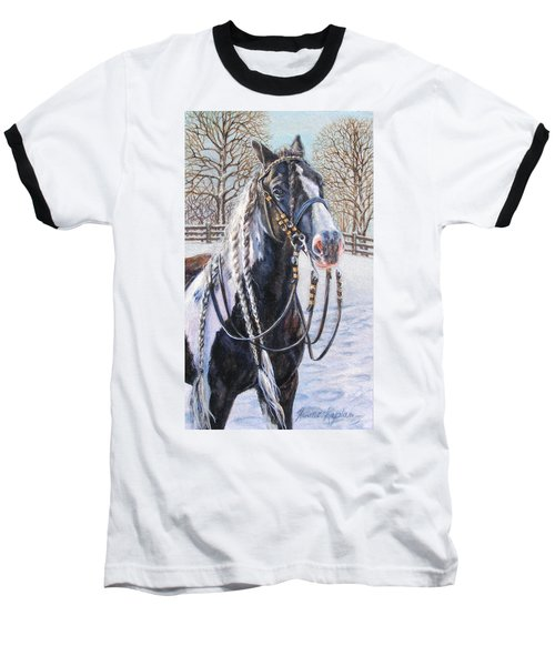 I'm Ready For The Ribbons Gypsy Vanner Horse Baseball T-Shirt