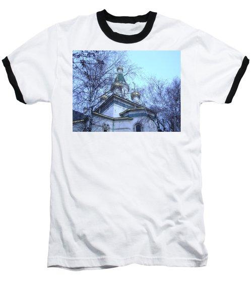 Orthodox Church Baseball T-Shirt