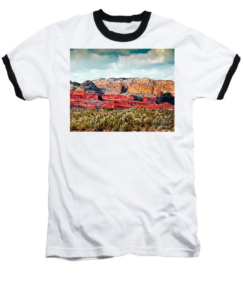 Secret Mountain Wilderness Sedona Arizona Baseball T-Shirt