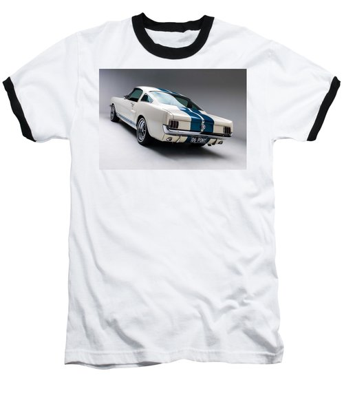 Baseball T-Shirt featuring the photograph 1966 Mustang Gt350 by Gianfranco Weiss