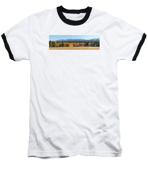 Autumn Day Baseball T-Shirt