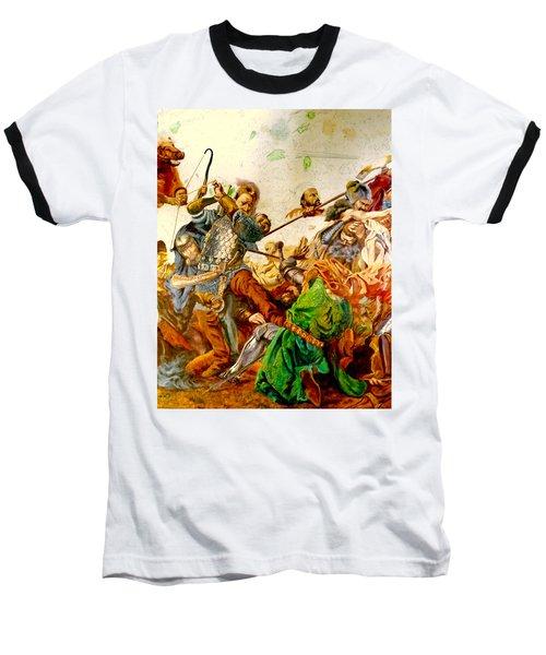 Battle Of Grunwald Baseball T-Shirt by Henryk Gorecki