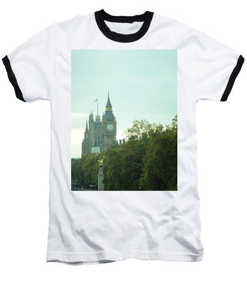 Baseball T-Shirt featuring the photograph Big Ben by Rachel Mirror
