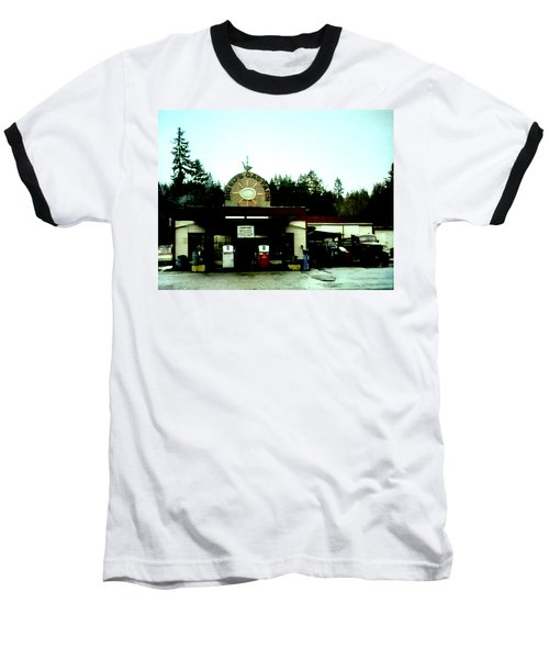 Baseball T-Shirt featuring the painting Big Eds by Luis Ludzska
