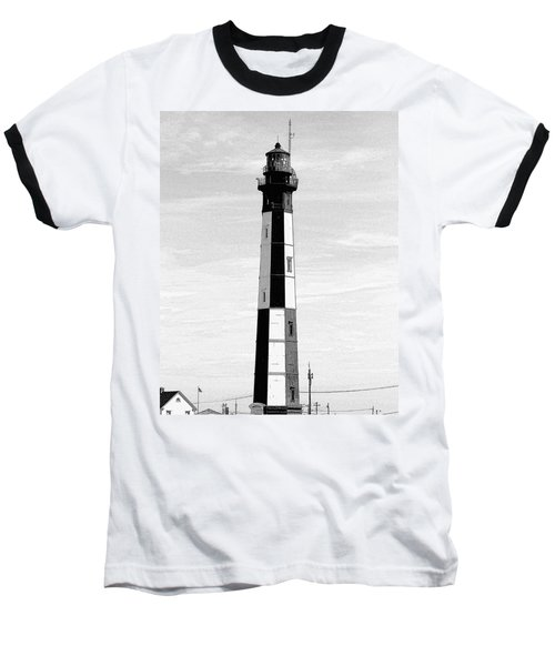 Cape Henry Lighthouse  Baseball T-Shirt