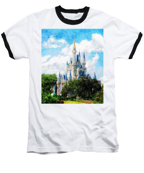 Cinderella Castle Baseball T-Shirt