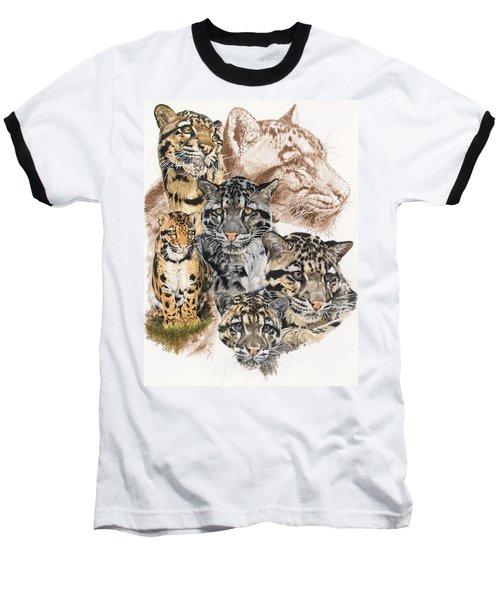 Cloudburst Baseball T-Shirt by Barbara Keith