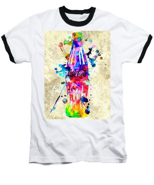 Coca-cola Baseball T-Shirt by Daniel Janda