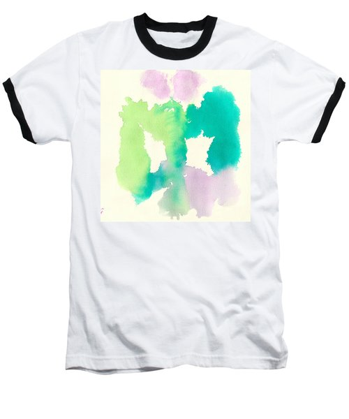 Baseball T-Shirt featuring the painting Cocoon by Frank Bright