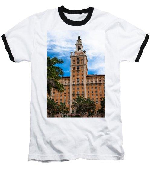 Coral Gables Biltmore Hotel Baseball T-Shirt