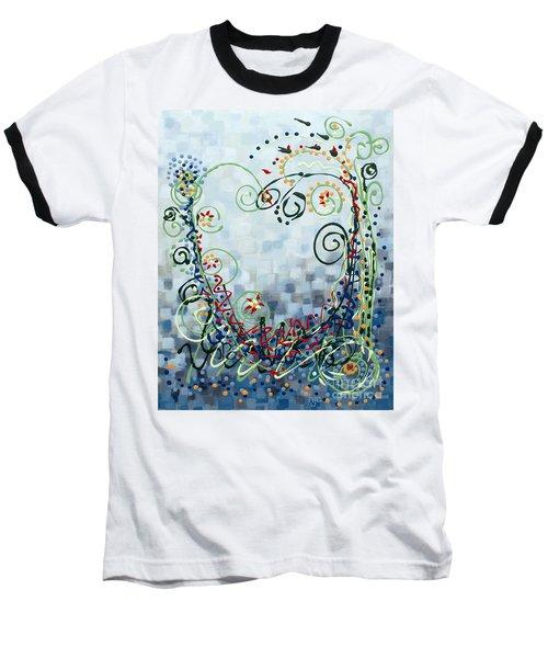 Crazy Love Jazz Baseball T-Shirt by Holly Carmichael