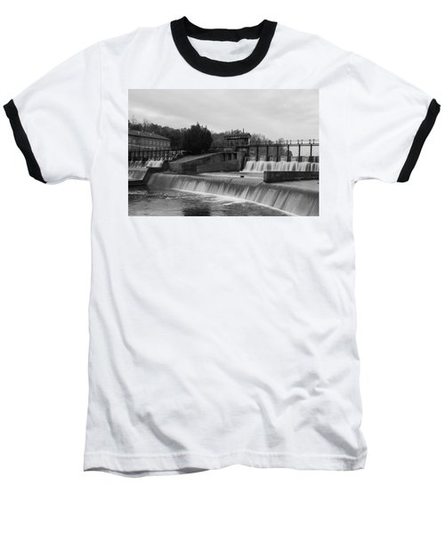Daniel Pratt Cotton Mill Dam Prattville Alabama Baseball T-Shirt