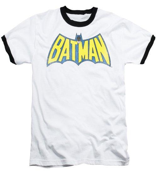 Dc - Classic Batman Logo Baseball T-Shirt