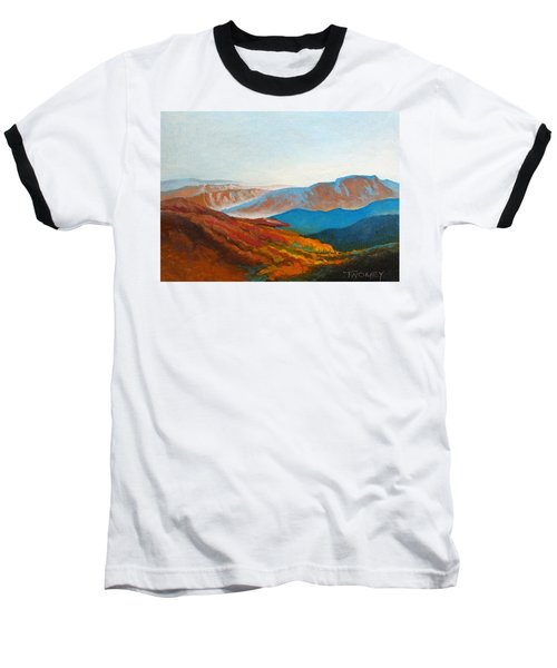 East Fall Blue Ridge Mountains 2 Baseball T-Shirt by Catherine Twomey