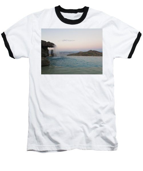 Evening Overlook Baseball T-Shirt
